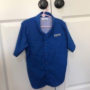 Boys Columbia PFG shirt